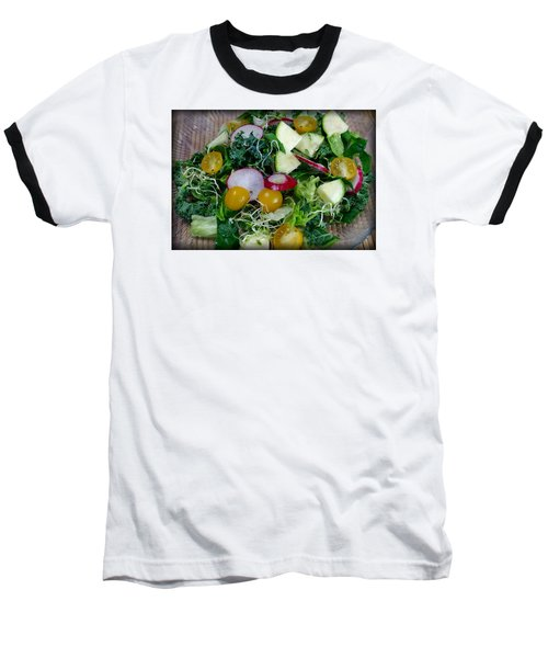 Baseball T-Shirt featuring the photograph Green Salad by Adria Trail
