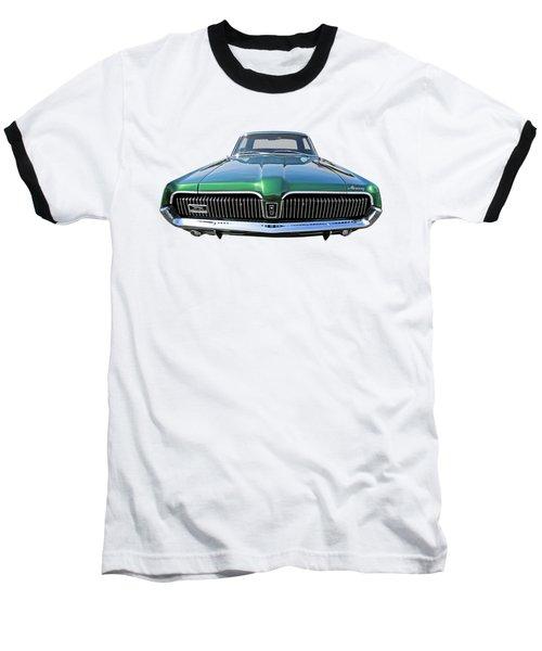 Green With Envy - 68 Mercury Baseball T-Shirt by Gill Billington