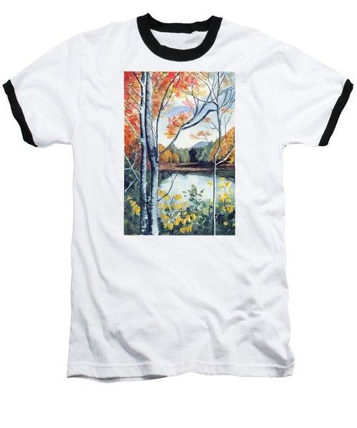 Greenbriar River, Wv 2 Baseball T-Shirt by Katherine Miller