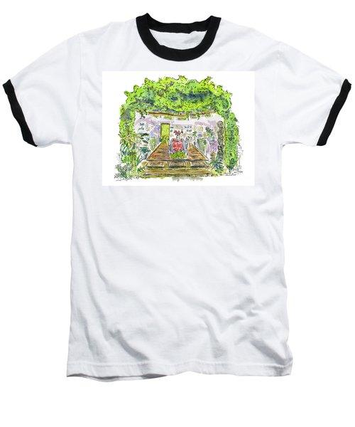 Greenhouse To Volcano Garden Arts Baseball T-Shirt
