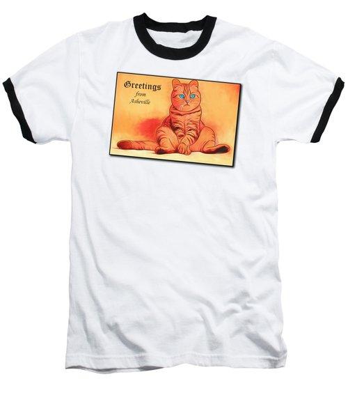 Greetings From Asheville Baseball T-Shirt