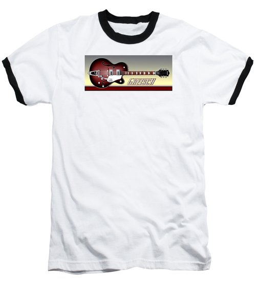 Gretsch Guitar Baseball T-Shirt