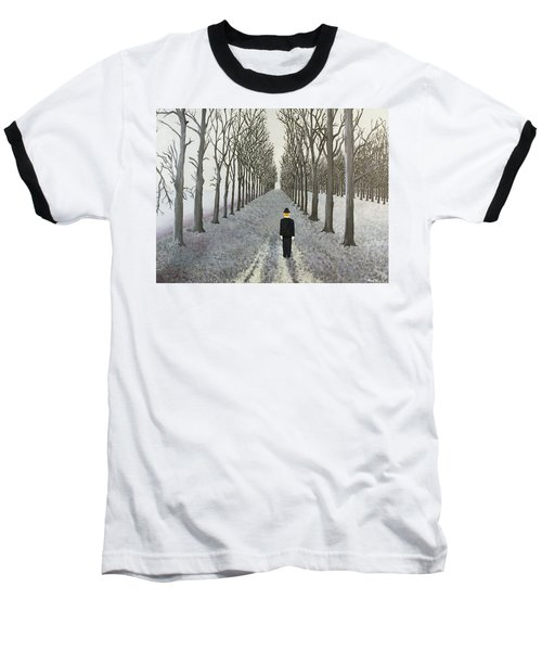 Grey Day Baseball T-Shirt