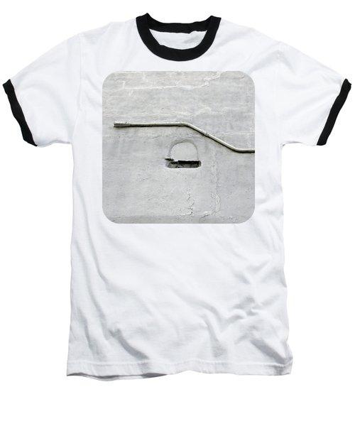 Grey Matter Baseball T-Shirt by Ethna Gillespie