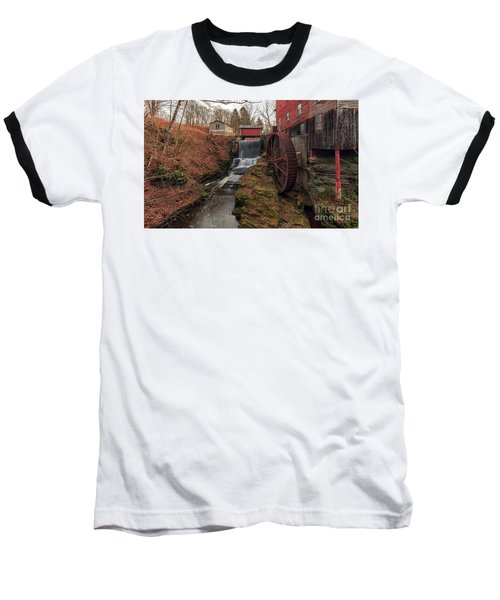 Grist Mill II Baseball T-Shirt