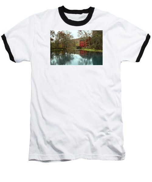 Grist Mill Wreflections Baseball T-Shirt