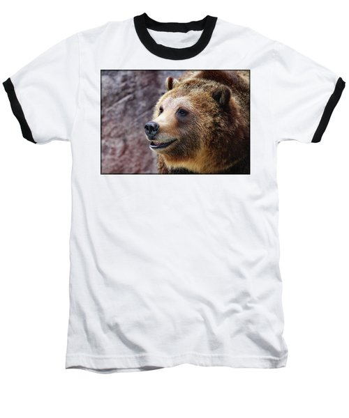 Grizzly Smile Baseball T-Shirt