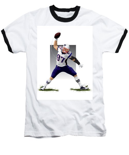 Gronk Baseball T-Shirt by Scott Weigner
