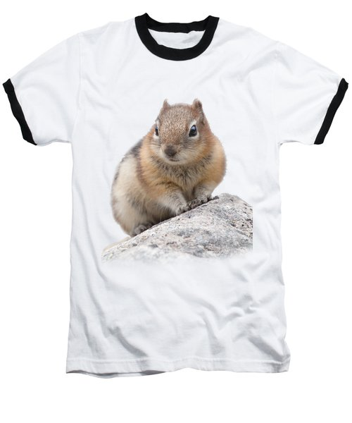 Ground Squirrel T-shirt Baseball T-Shirt by Tony Mills