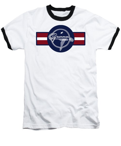 Grumman Stripes Baseball T-Shirt