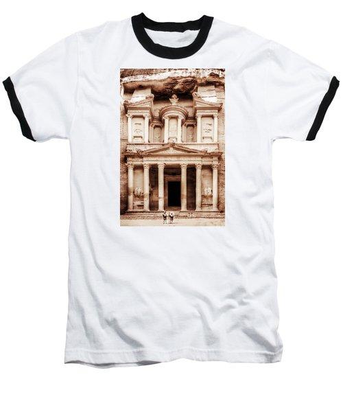 Guarding The Petra Treasury Baseball T-Shirt