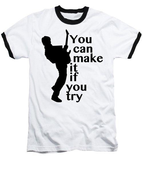 Guitar Fantasy Five Baseball T-Shirt