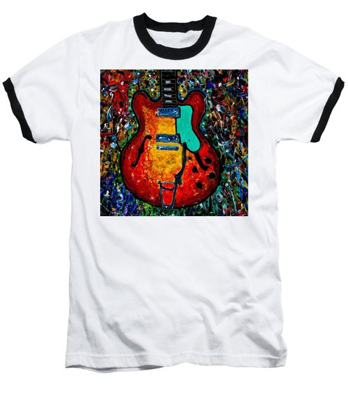 Guitar Scene Baseball T-Shirt