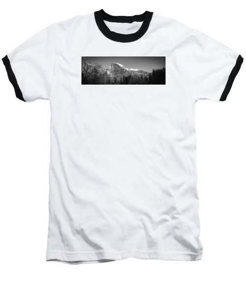 Half Dome In Winter Baseball T-Shirt