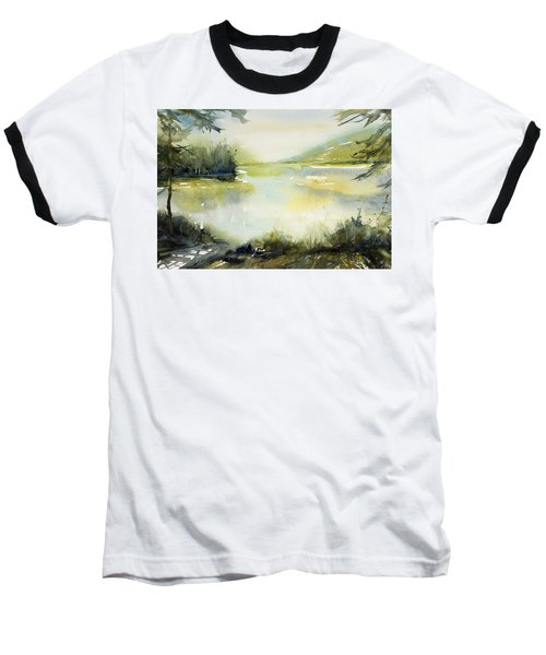 Half Moon Pond Baseball T-Shirt