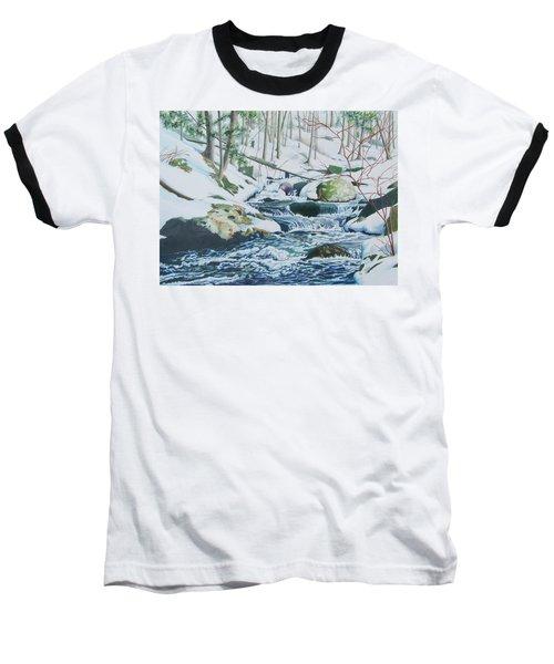 Hamburg Mountain Stream Baseball T-Shirt