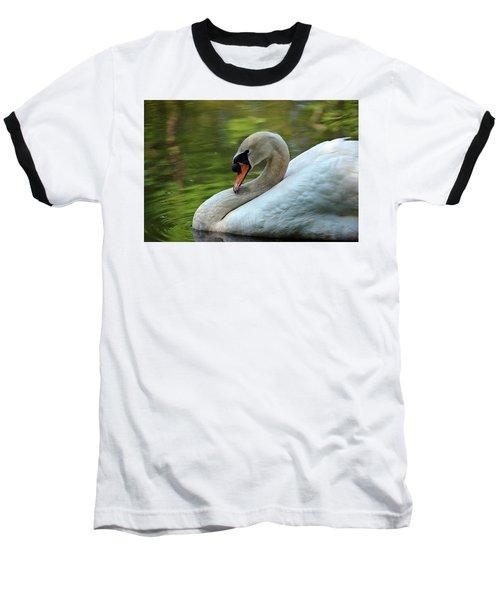 Hammy Swan Baseball T-Shirt