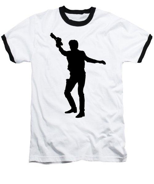 Han Solo Star Wars Tee Baseball T-Shirt by Edward Fielding