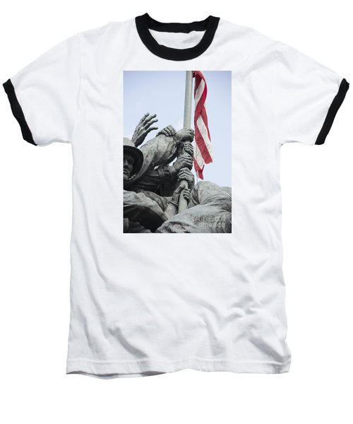 Hands Of Suribachi Baseball T-Shirt