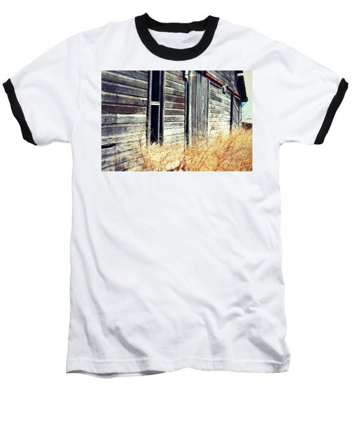 Baseball T-Shirt featuring the photograph Hanging By A Bolt by Julie Hamilton