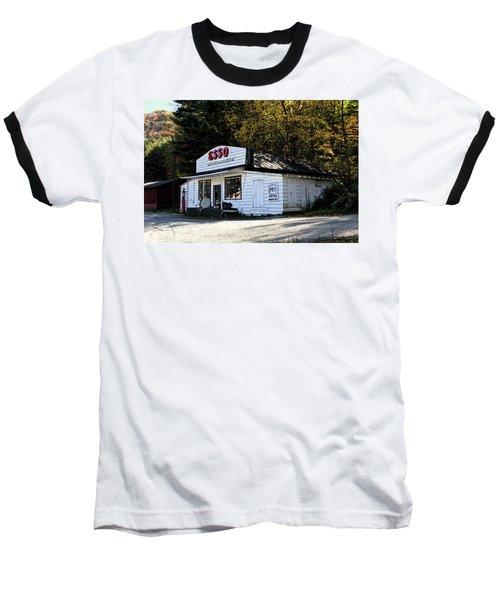 Happy Motoring Baseball T-Shirt by Dale R Carlson