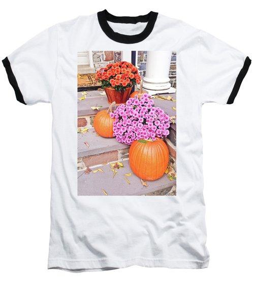 Baseball T-Shirt featuring the photograph Happy Thanksgiving by Ann Murphy