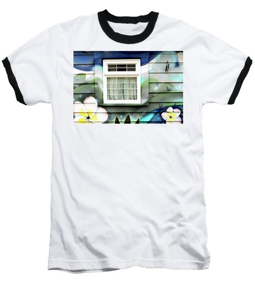 Happy Window Baseball T-Shirt