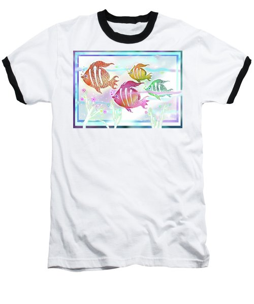 Happiness Is A Clean Ocean  Baseball T-Shirt
