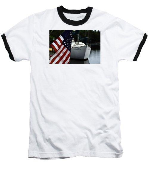Baseball T-Shirt featuring the photograph Harbor by Allen Beilschmidt