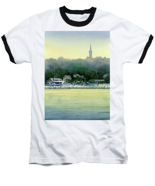 Harbor Master, Port Washington Baseball T-Shirt
