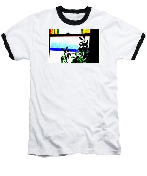 Harbor Side Window Baseball T-Shirt