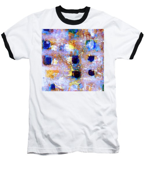 Baseball T-Shirt featuring the painting Hard Eight by Dominic Piperata