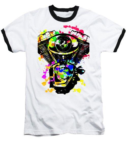 Harley Davidson Pop Art 5 Baseball T-Shirt