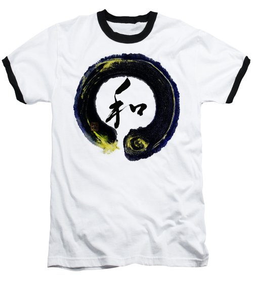 Harmony - Peace With Enso Baseball T-Shirt