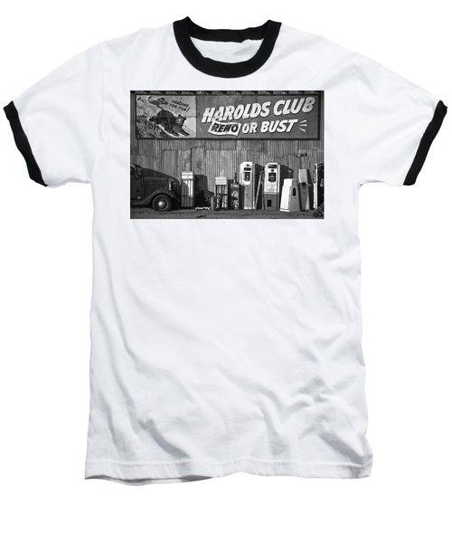 Harold's Club Baseball T-Shirt by Marius Sipa