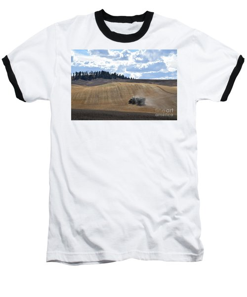 Hauling The Harvest From The Fields. Baseball T-Shirt