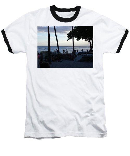 Hawaiian Afternoon Baseball T-Shirt