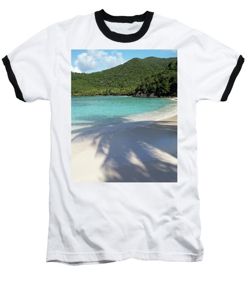 Hawksnest Bay And Gibney Beach Baseball T-Shirt