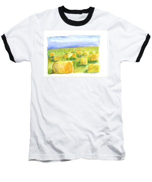 Hay Bales Baseball T-Shirt