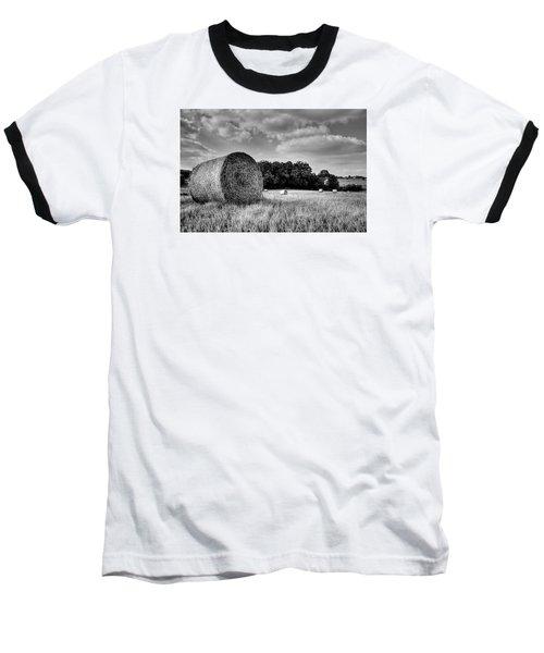 Hay Race Track Baseball T-Shirt by Jeremy Lavender Photography