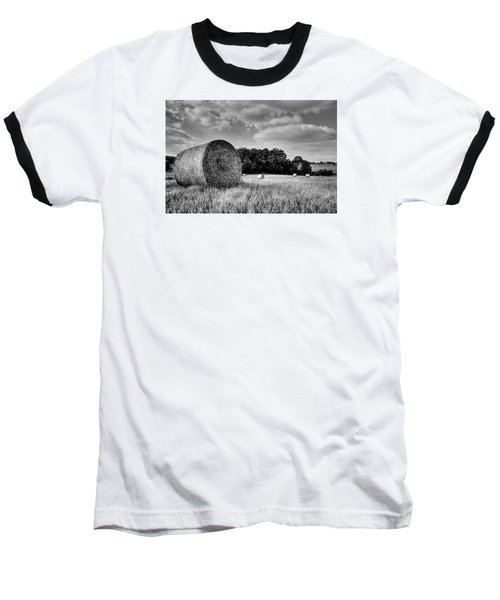 Hay Race Track Baseball T-Shirt