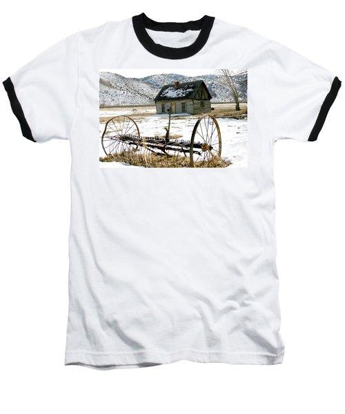 Hay Rake At Butch Cassidy Baseball T-Shirt