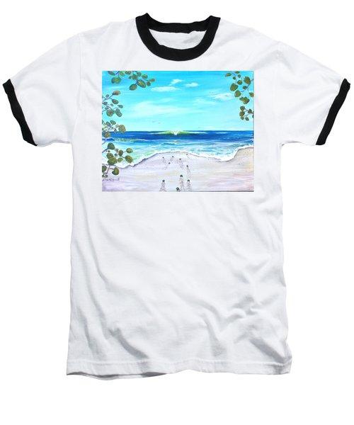 Headed Home Baseball T-Shirt by Dawn Harrell