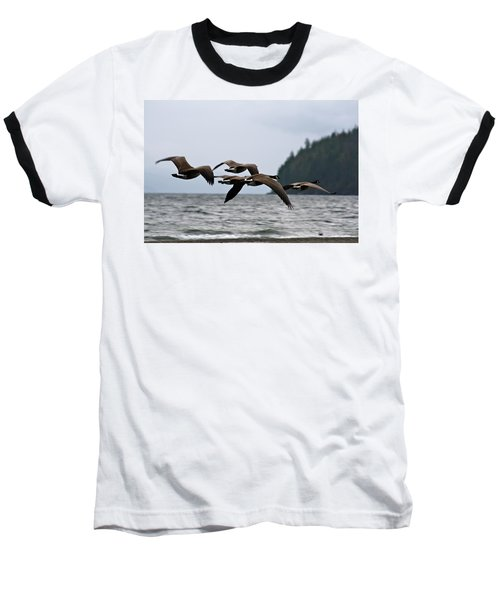 Baseball T-Shirt featuring the photograph Heading South by Cathie Douglas