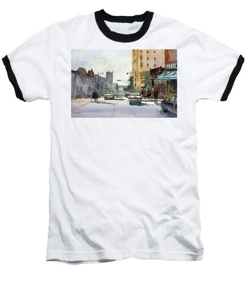 Heading West On College Avenue - Appleton Baseball T-Shirt