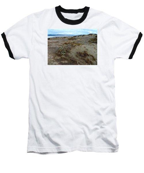 Headlands Mackerricher State Beach Baseball T-Shirt by Amelia Racca