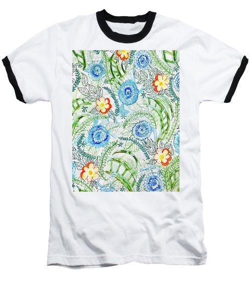 Healing Garden Baseball T-Shirt