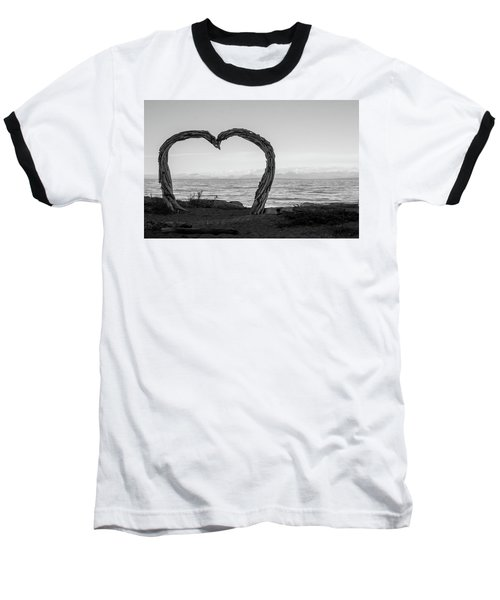 Heart Arch Baseball T-Shirt