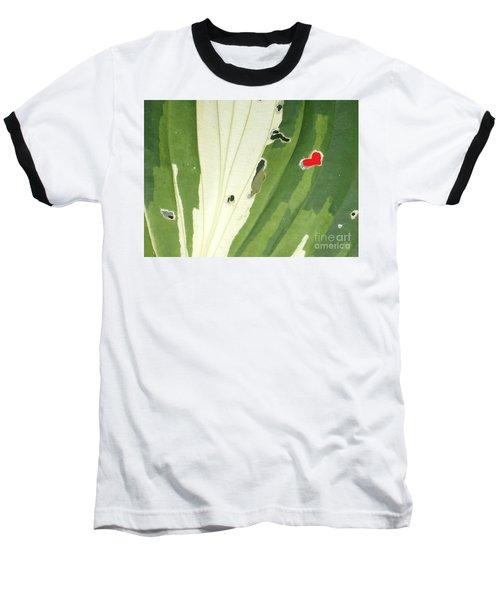 Heart In Nature Baseball T-Shirt