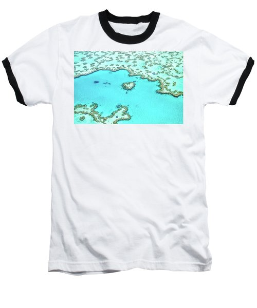 Baseball T-Shirt featuring the photograph Heart Of The Reef by Az Jackson